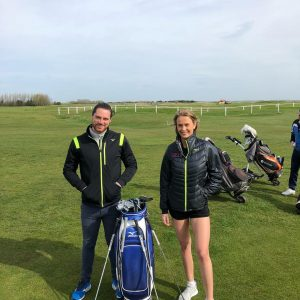 Golf Hostess With Mizuno Golf Pairs At Royal St Georges – 17th April 01 3 Scaled