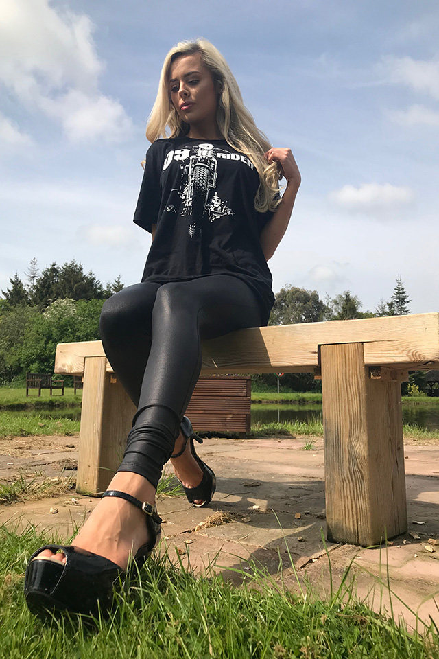 Promotional Model – Biker T-shirts – Solihull – 18th May 2018