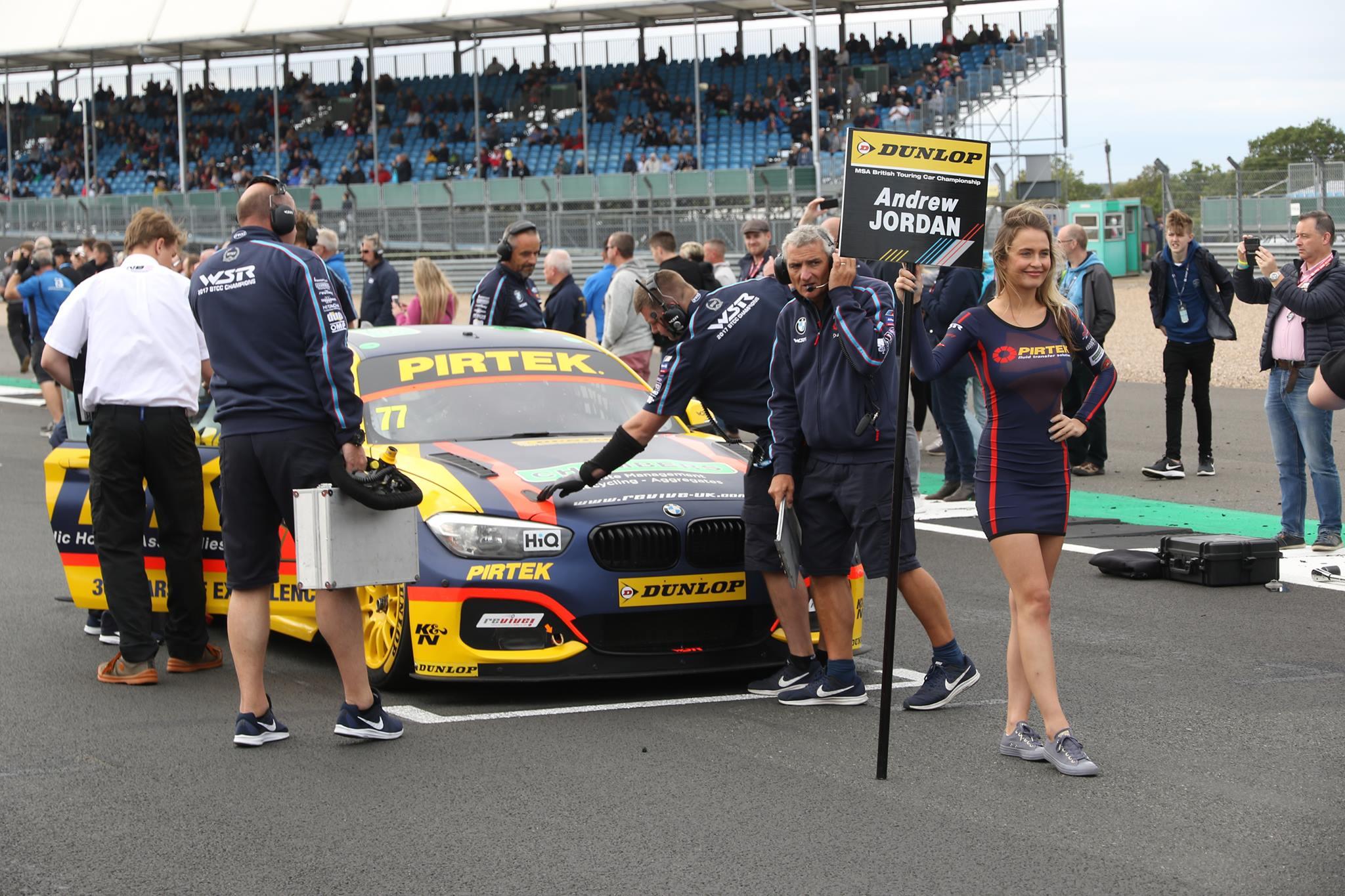 BMW Pirtek Racing BTCC at Silverstone BTCC – 16th September
