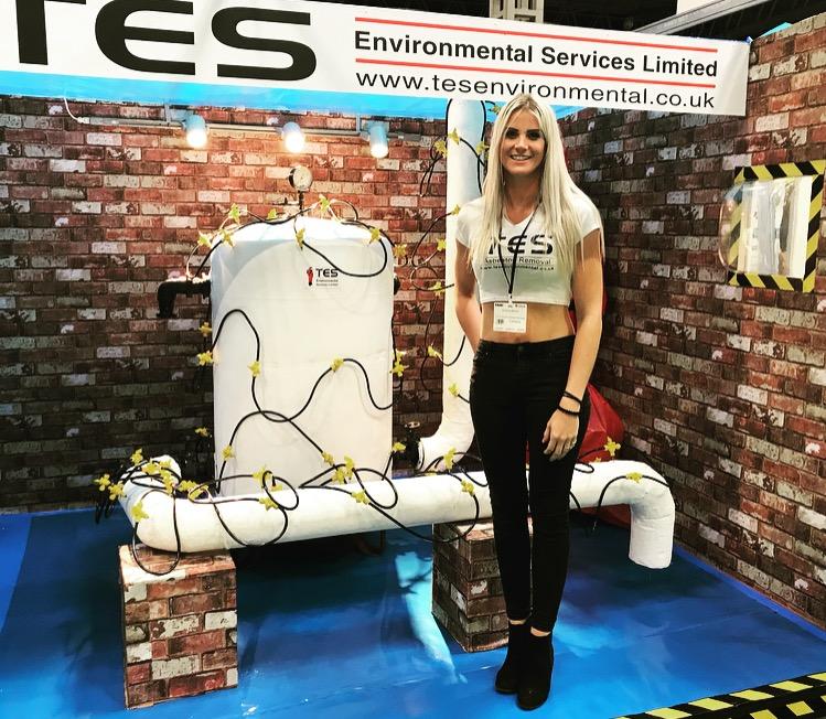 Promotional Model – Contamination Expo – Birmingham NEC – 12-13th Sept