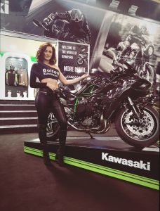 Promotional Model Bolton Motorcycles Manchester Motorcycle Show 2019 01 2