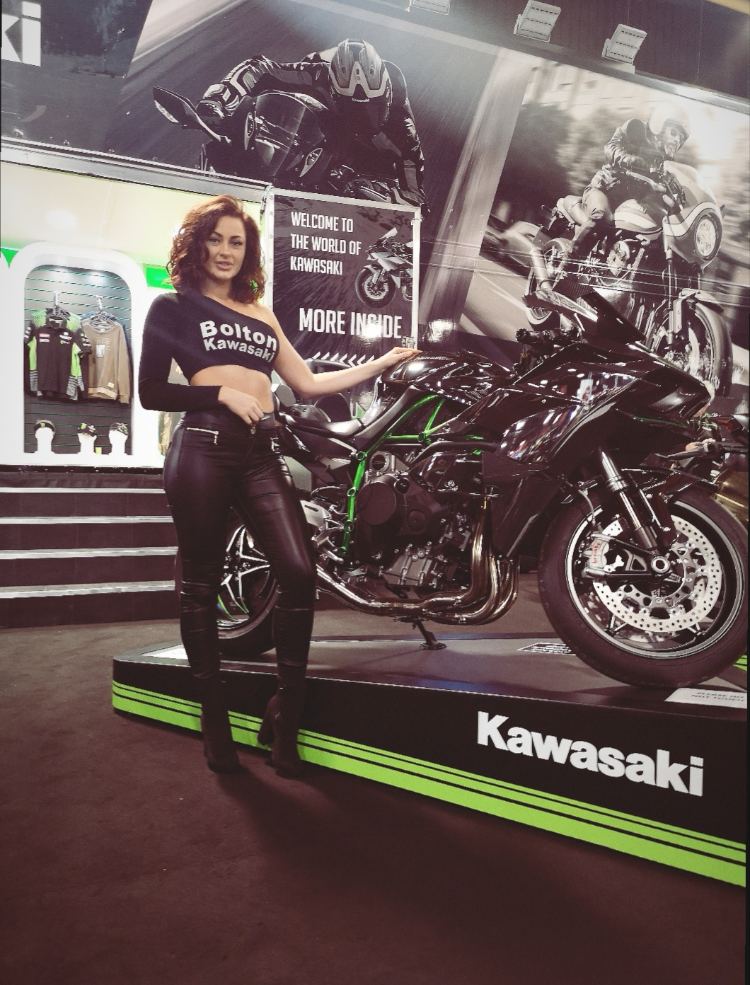 Promotional Model – Bolton Motorcycles – Manchester Motorcycle Show 2019