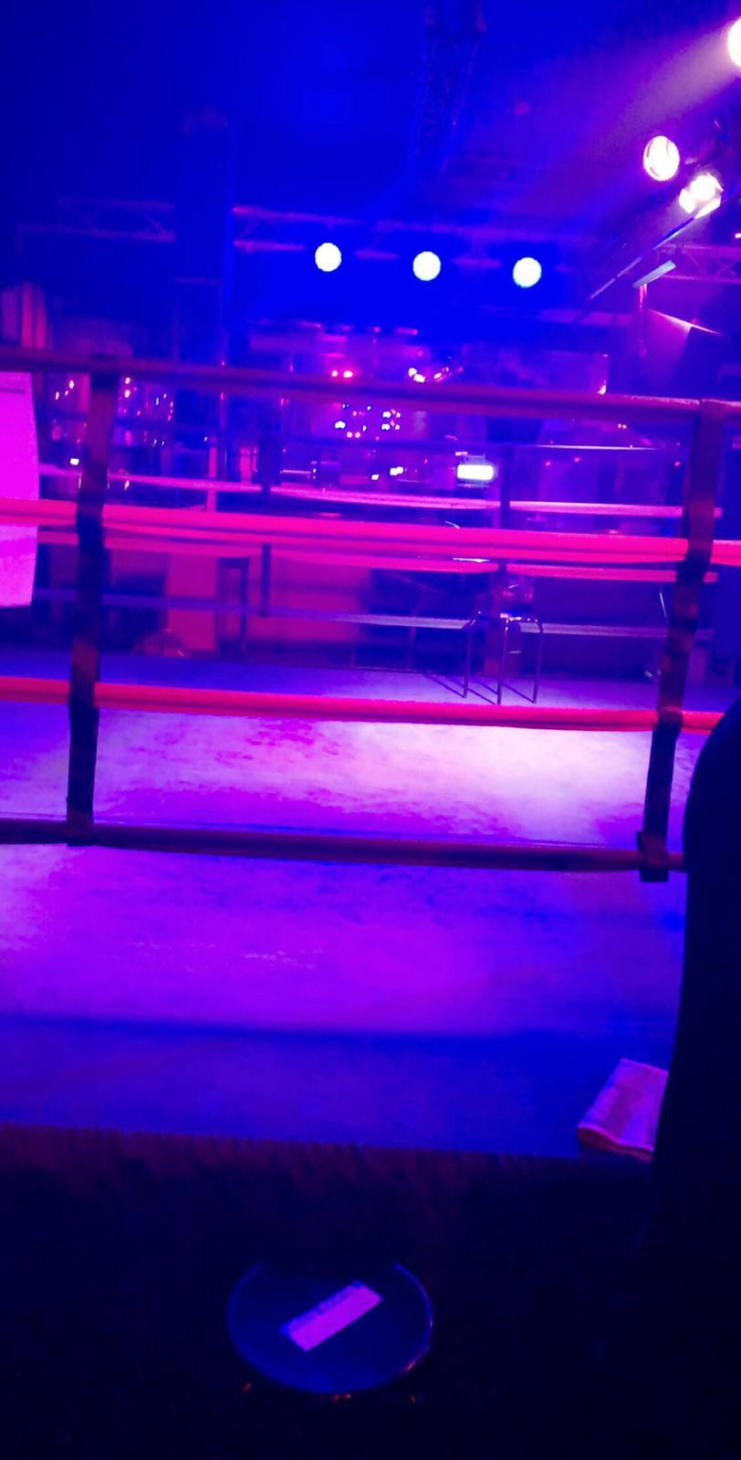 Ring Girl – Infernos, Clapham – 22nd March 2019