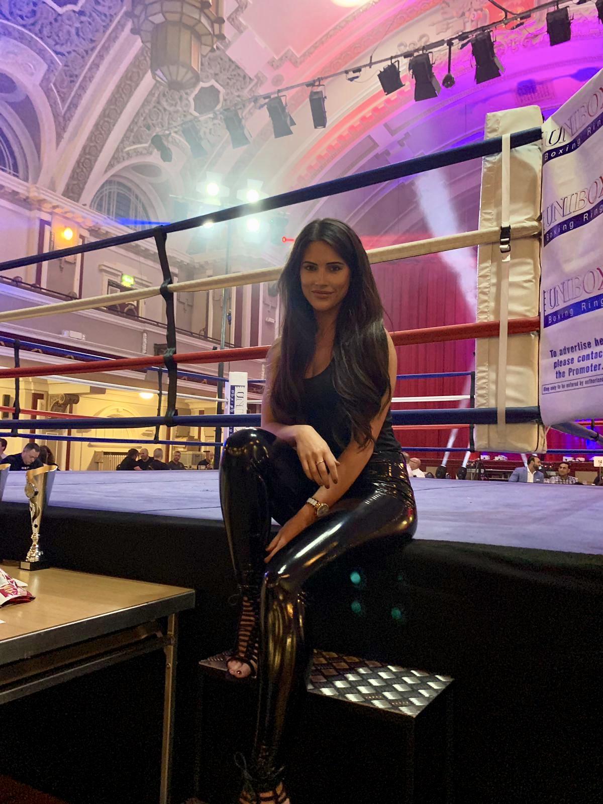Ring Girls – Muay Thai Promotions – Stoke – 20th April 2019