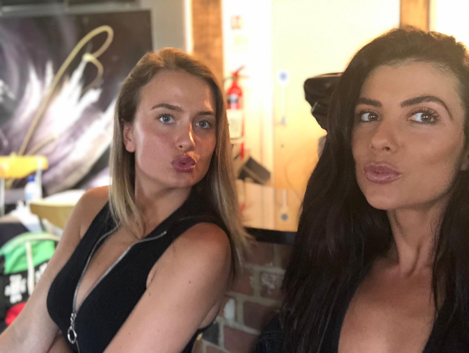Ring Girls – IBA Boxing – Boatyard, Essex – 21st June 2019