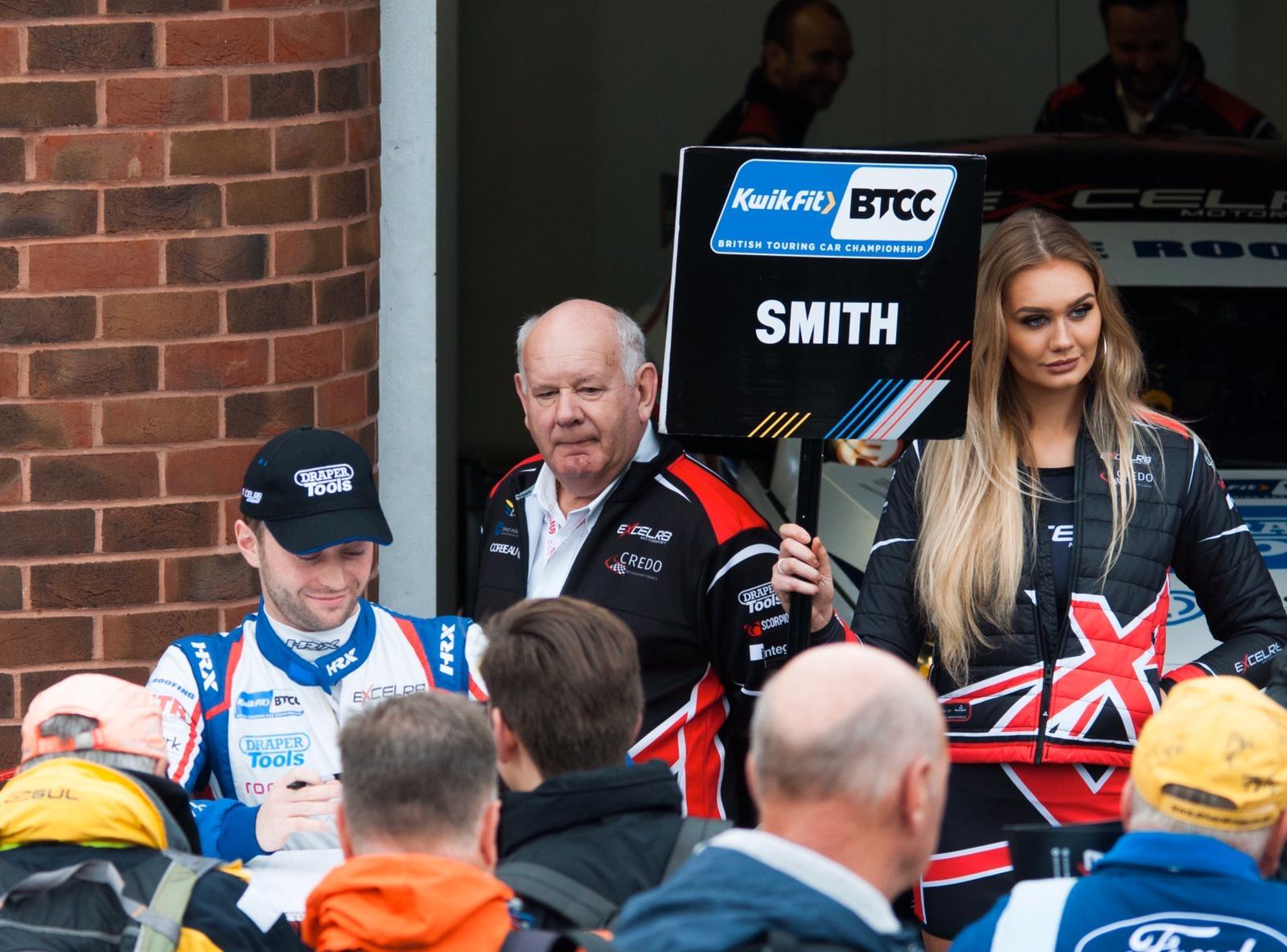 Excelr8 Motorsport BTCC at Brands Hatch BTCC on Sunday 13th October 2019