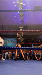 Ring Girls Iba Boxing Leigh On Sea Essex 29th November 2019 01 2
