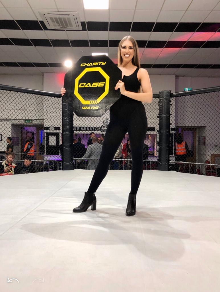 Ring Girls – Charity Cage Wars – Coventry – 30th November 2019