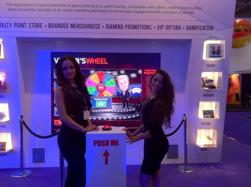 Ice Totally Gaming Excel London – Exhibition Model Hire