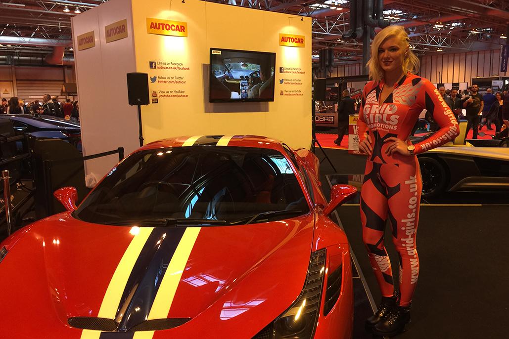 Autosport International Show – Exhibition Model Hire