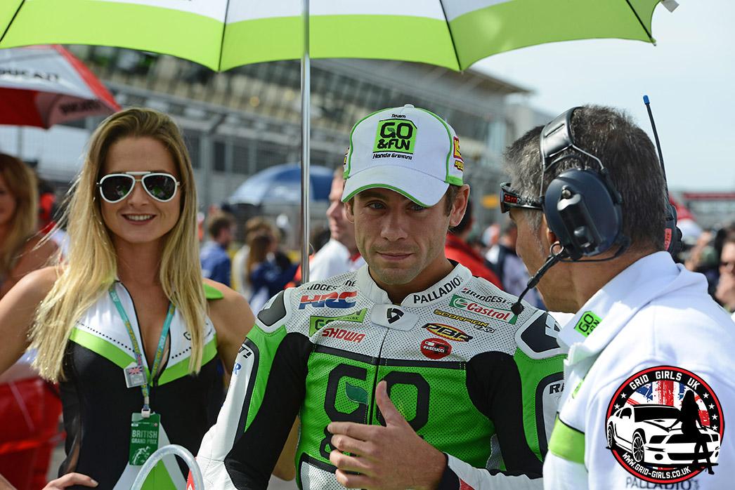 Go and Fun Honda Gresini at Silverstone Motogp 2013