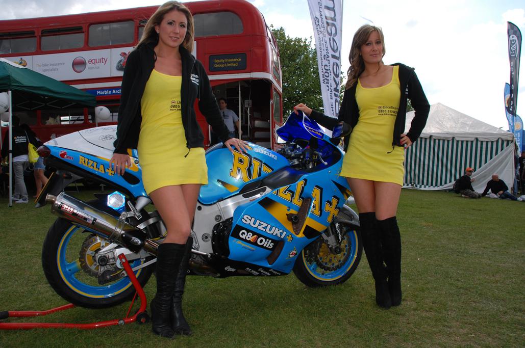 Bike Team at BMF Show, Peterborough Showground in May 2010
