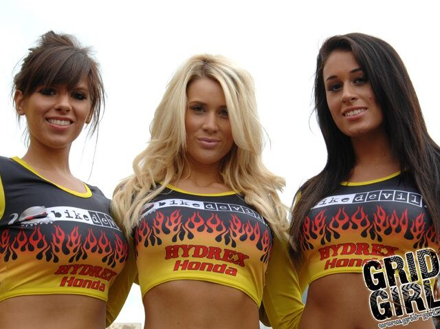 Grid Girls Uk At Oulton Park British Superbikes In October 2009