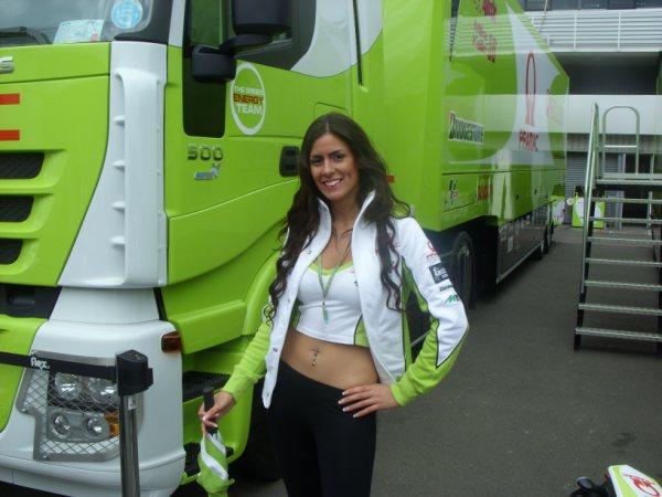 Pramac Ducati At Silverstone Motogp In June 2010