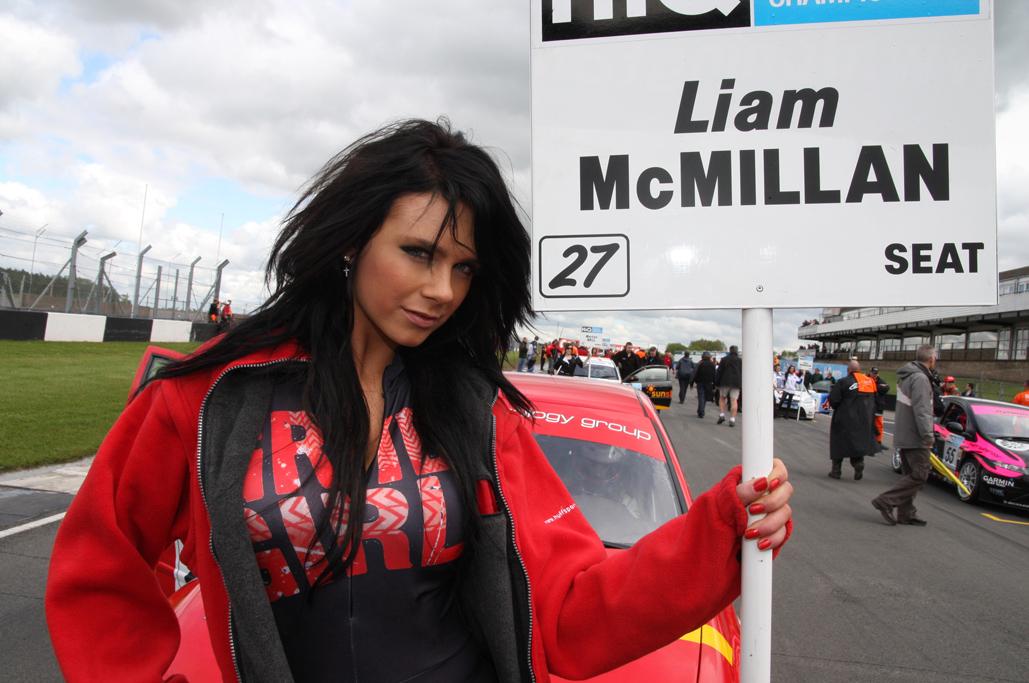 Liam McMillan – British Touring Cars – Donington Park – May 2009