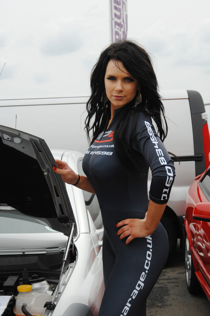 Midpoint Vauxhall at Santa Pod's Performance Vauxhall Show in July 2009