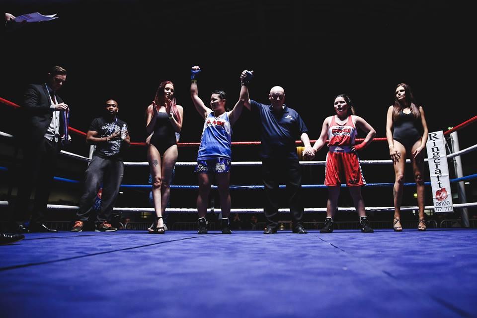 Ring Girl – Fight City Gym – York Hall – 1st December 2016