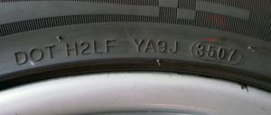 DOT data di produzione pneumatici