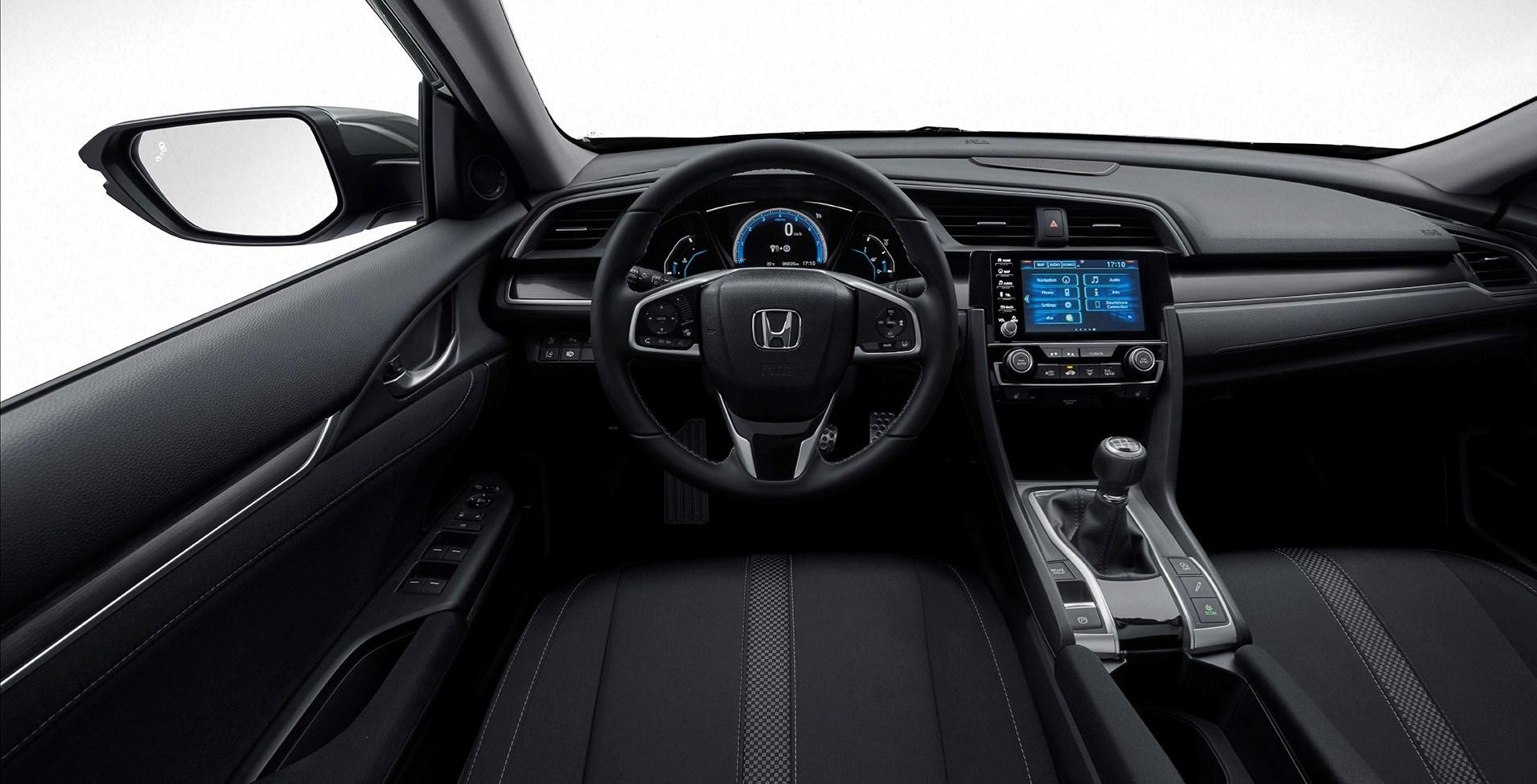 Honda Civic 2020, aggiornamento di stile e infotainment