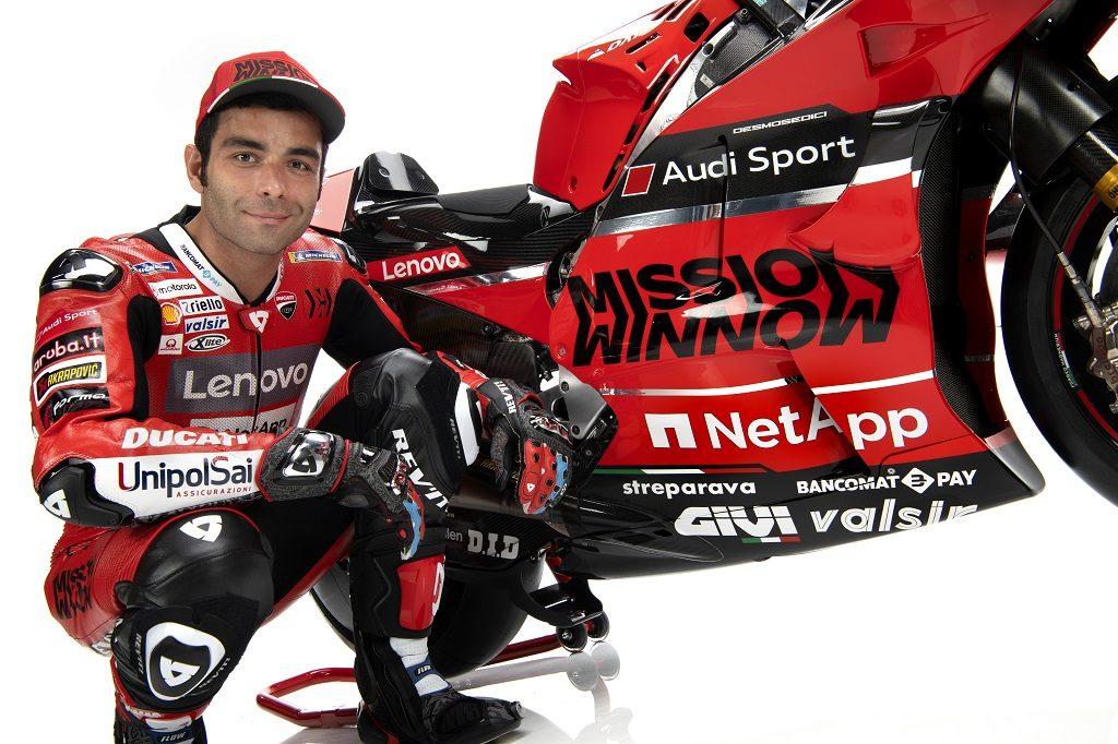 Team Ducati Moto GP Desmosedici Dovizioso Petrucci Ducati Motogp 2020