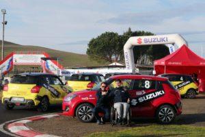 disabili rallisti Rally Italia Talent 2020 Suzuki Swift diversamene abili diversamente abili