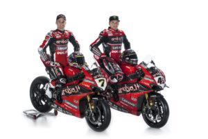 Ducati  Superbike Aruba Racing Panigale V4 R Scott Redding Chaz Davies