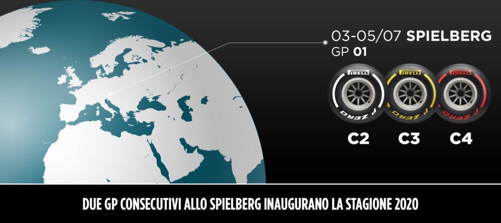 Questa nomination è valida per entrambe le gare in Austria, che si disputeranno per la prima volta in due weekend consecutivi a seguito del calendario F1 2020 rivisto.