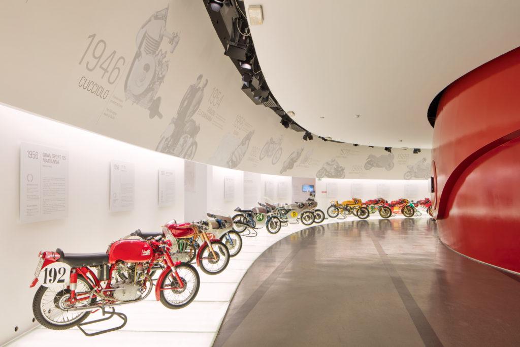 Museo Ducati riapre riapertura nuove esperienze moto e-bike