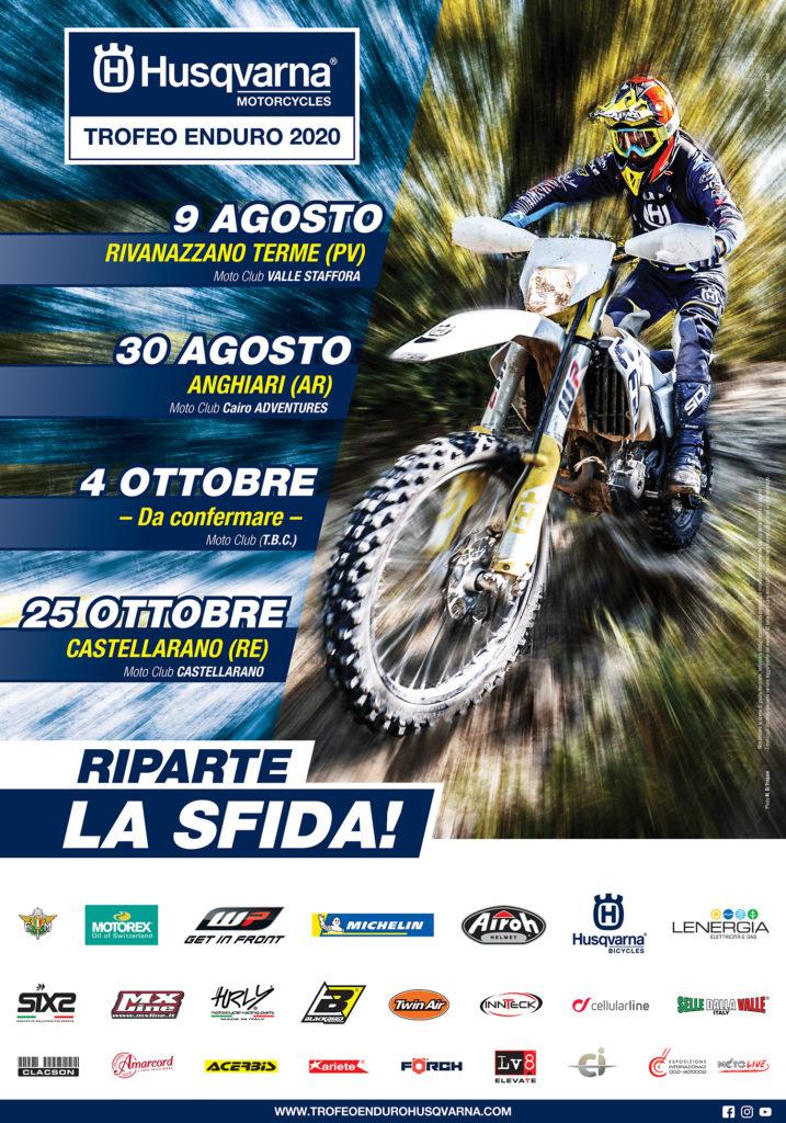 Trofeo Enduro Husqvarna 2020 calendario