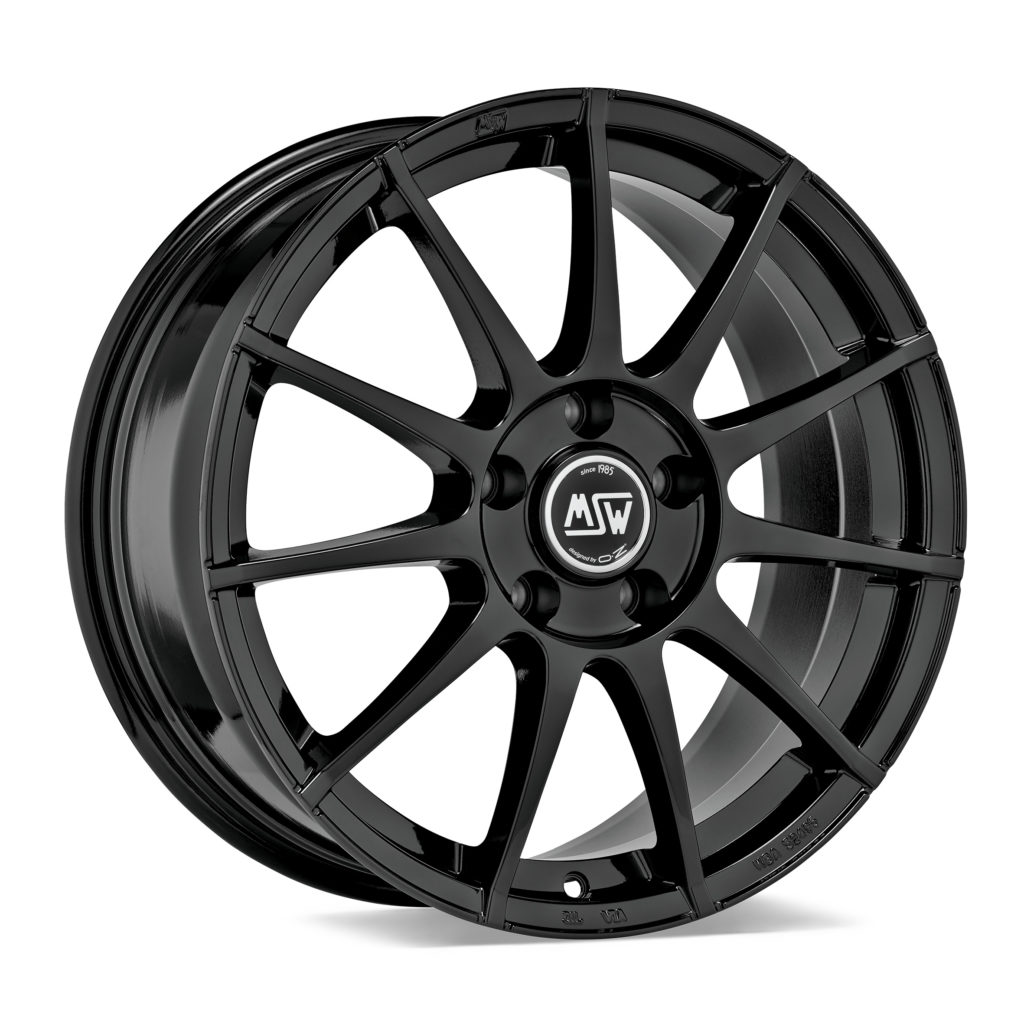 MSW 85 All Season cerchi ruote cerchio Gloss Black oz