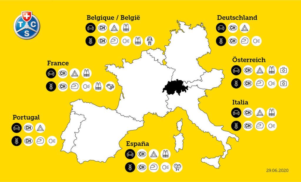 come circolare in europa come viaggiare in europa norme auto europa norme moto europa
