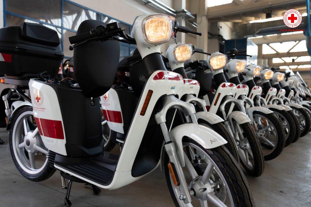 Askoll bici elettriche scooter elettrici Croce Rossa Italiana e-bike