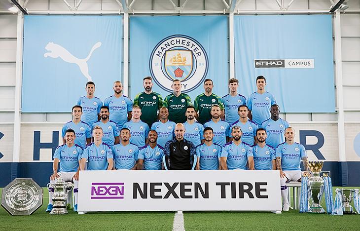 Manchester City Nexen Tire rinnova per la terza volta la partnership