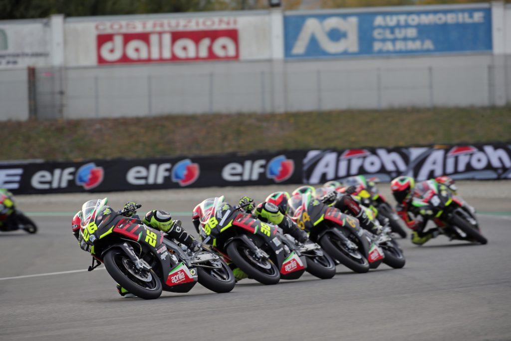 Campionato FMI Aprilia Sport Production: Lorenzo Frasca e Daniel Da Lio campioni italiani 2020