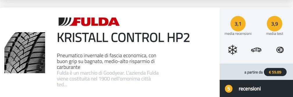 recensioni fulda kristall control hp2