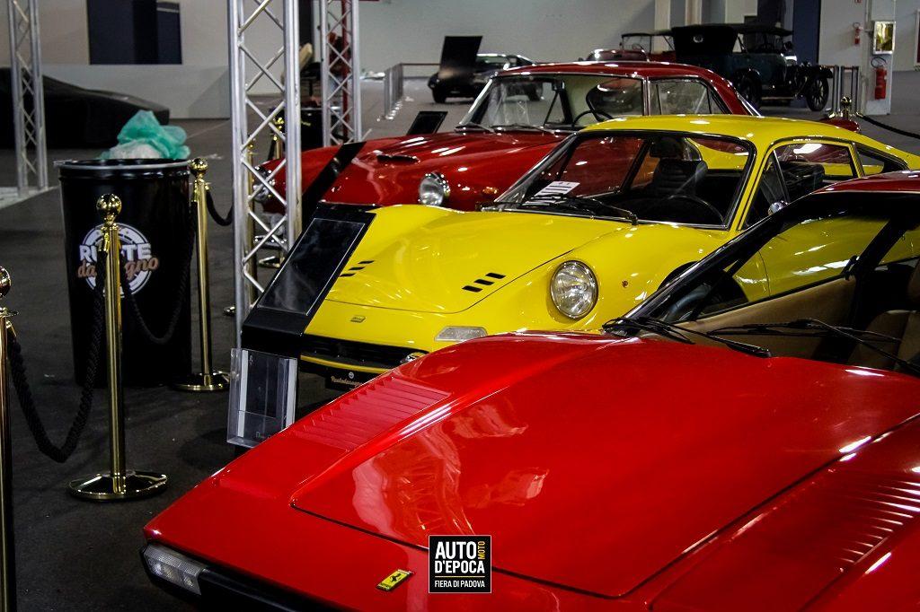 Auto e Moto d'Epoca storiche vetture padova fiera