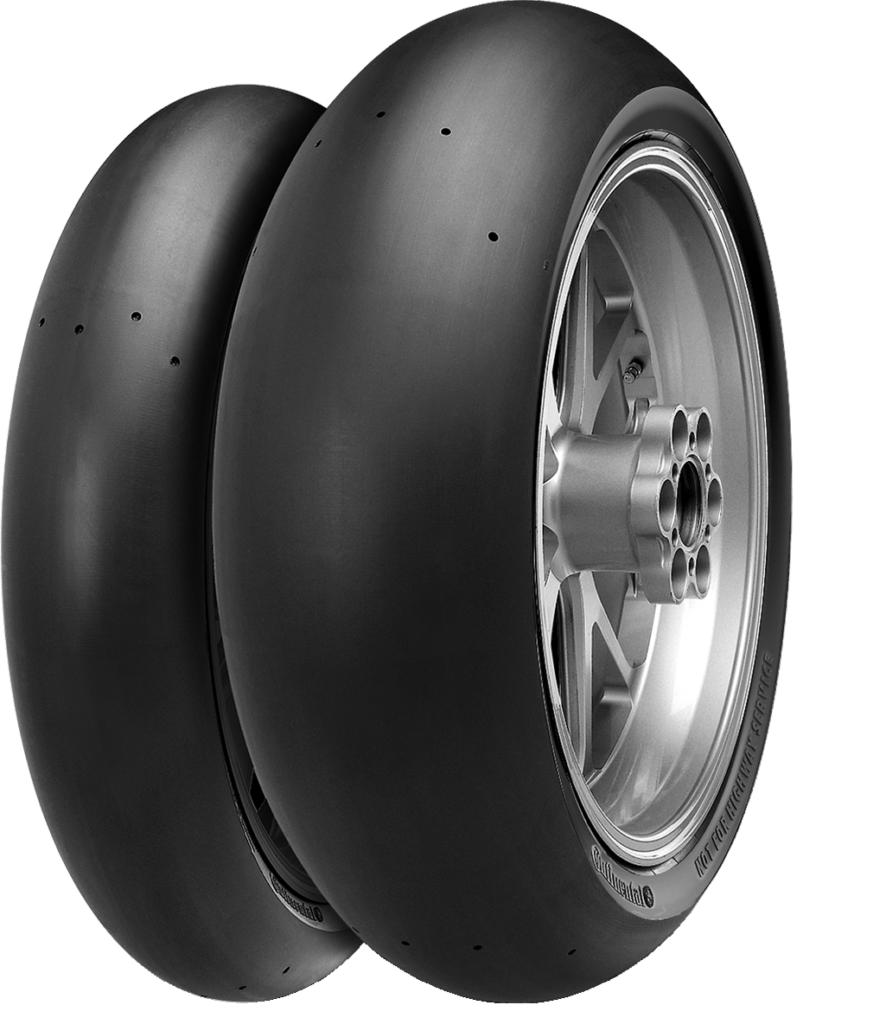 ContiTrack, i pneumatici slick per moto targati Continental