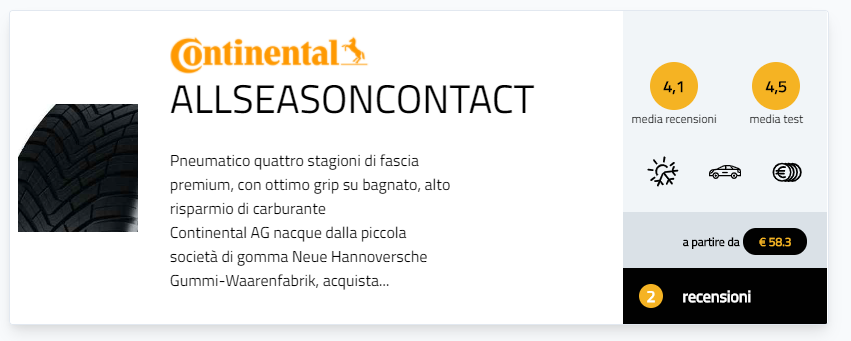Test gomme quattro stagioni 225/45 18 migliori pneumatici recensioni
