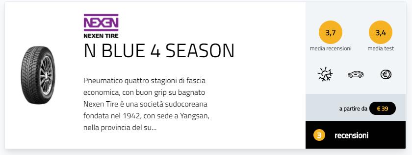migliori pneumatici all season 2020 marchi classifica gomme 4 stagioni