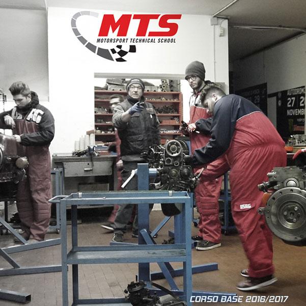diventare meccanico box tecnico MTS formazione professionisti del Motorsport lavorare paddock ferrari formula uno motogp scuola corsi formula uno moto gp