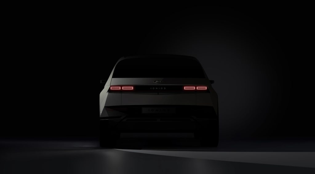 IONIQ 5 Hyundai svela le prime immagini teaser elettrico