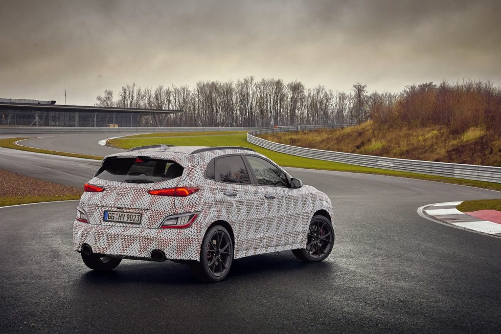 Kona N Nuova Hyundai SUV sportivo si unisce alla famiglia N