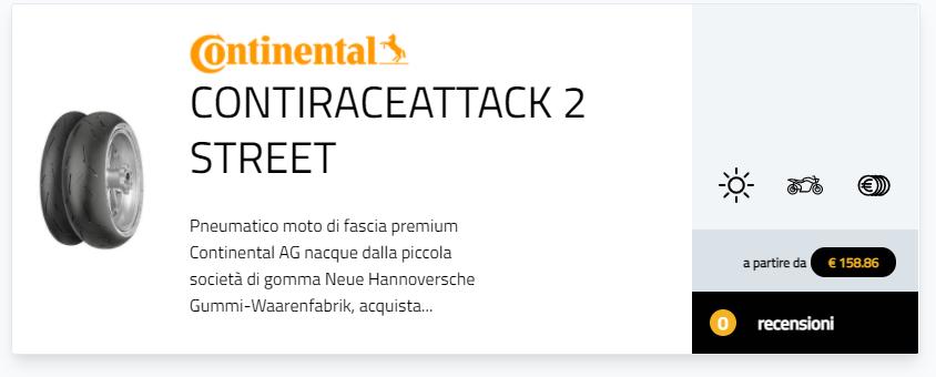 pneumatici moto Continental classifiche pneumatico moto dell'anno Ottimi risultati nella ricerca Pneumatico moto dell'anno per i Continental ContiTrailAttack 3, TKC 70, ContiScoot, ContiRaceAttack 2, ContiSportAttack 4, ContiRoadAttack 3, ContiTour recensioni pareri opinioni
