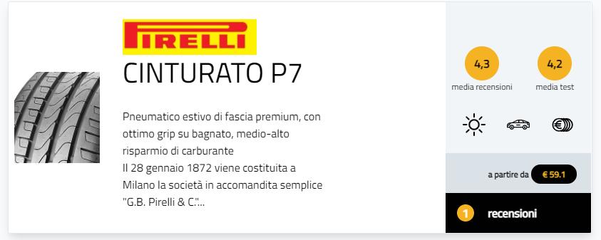BMW Serie 8 Pirelli P Zero Cinturato P7 All Season Winter Sottozero 3