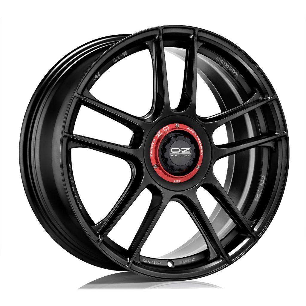 cerchi neri OZ Indy HLT si tinge di nero ruote gloss black modelli porsche finitura titanio white gold colori colorati configuratore