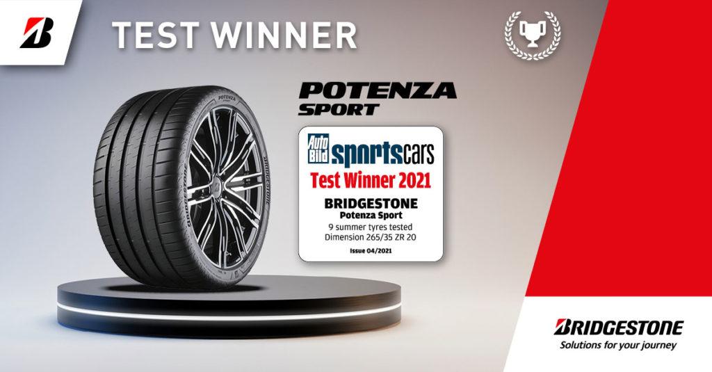 recensioni Bridgestone Potenza Sport test pneumatici pareri opinioni