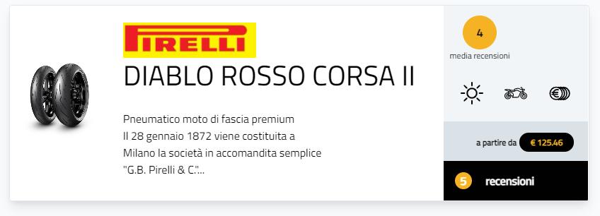 Pirelli Diablo Rosso IV pareri recensioni commenti opinioni prova moto.it