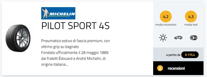 migliori gomme estive sportive 2021 test pneumatici 265/35 ZR20 pareri