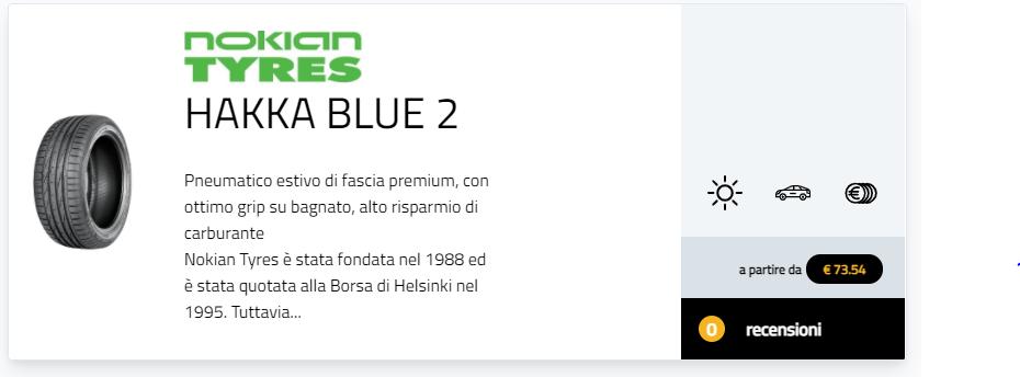 migliori gomme estive 2021 cambio gomme test pneumatici 225/45 R17