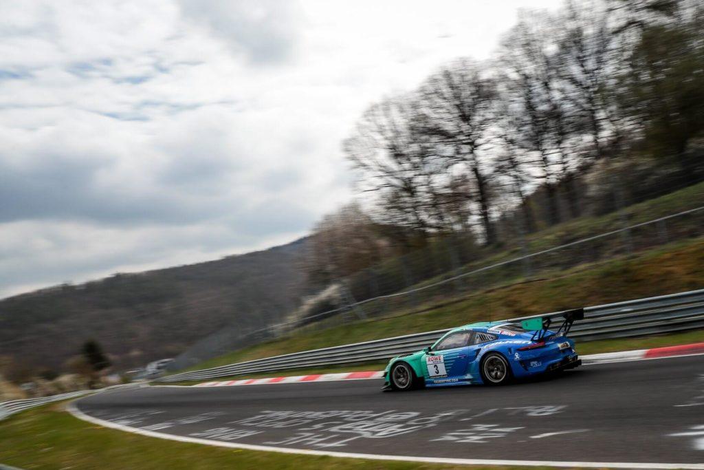 Klaus Bachler Martin Ragginger Falken Nürburgring Endurance Series